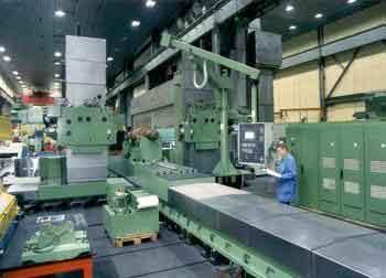 中震机床工件上定位基准面和定位件精度